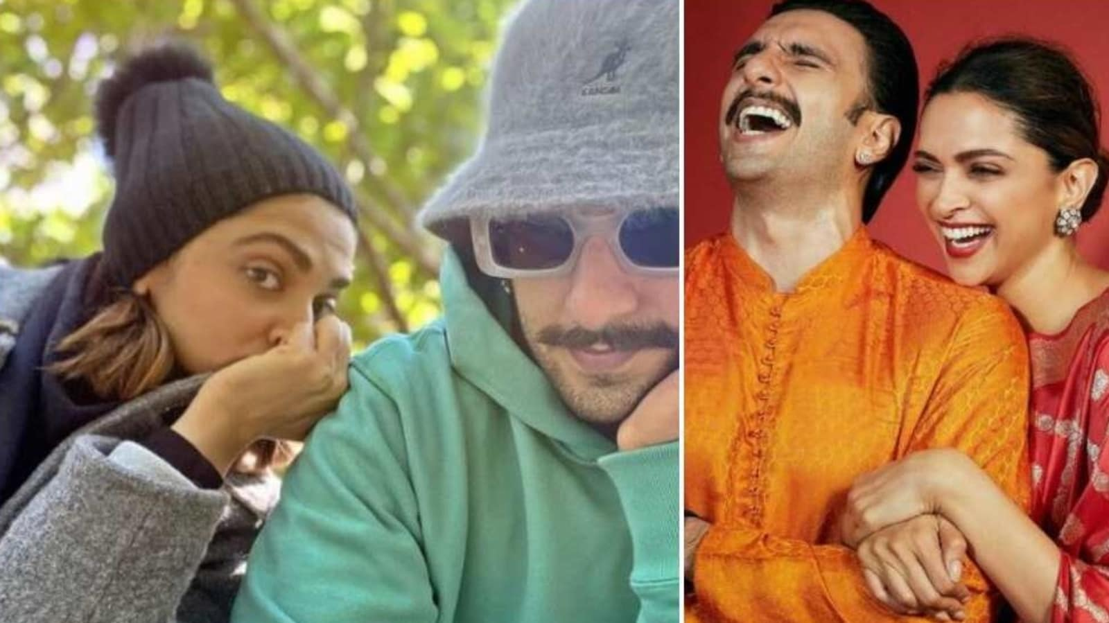 Deepika Padukone's 'peek-a-boo' moment with husband Ranveer Singh gets a thumbs up from fans, see here - Hindustan Times