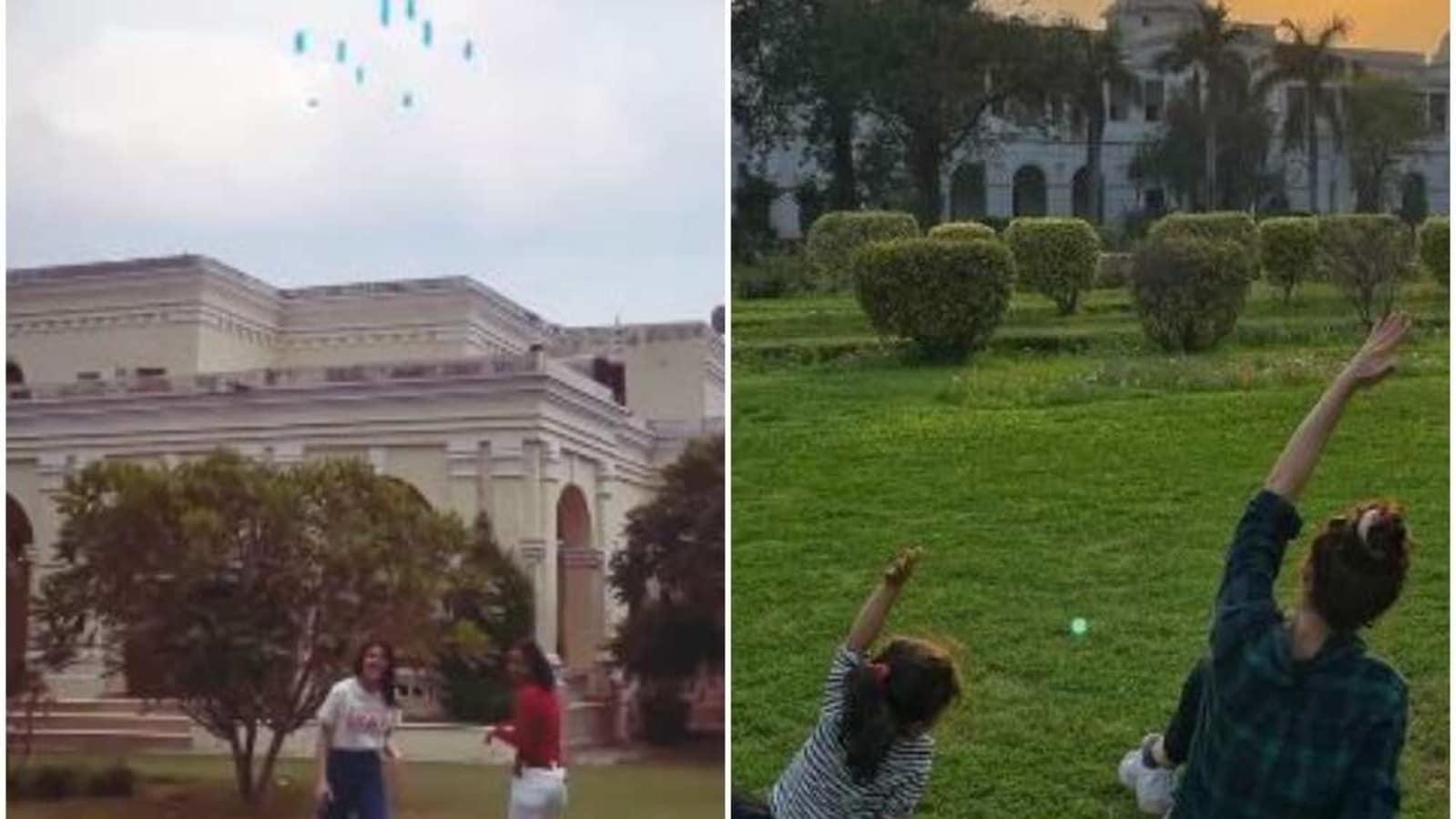 Soha Ali Khan and Inaaya take over Pataudi Palace grounds, live their best life. See pics - Hindustan Times