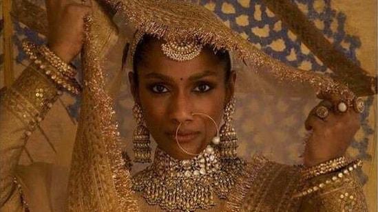 Masaba Gupta as a Sabyasachi bride(Instagram)