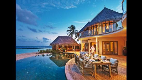 Before the pandemic struck, the Maldives had the highest room rates in the world