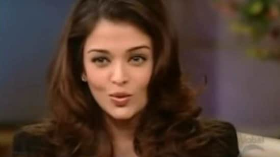 Aishwarya Rai appeared twice on Oprah Winfrey's show.