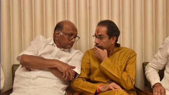 In Rathod and Vaze's cases, the action appeared to have been taken only after Pawar's intervention. This has been creating a poor picture for Thackeray, who is behind the steering wheel, say analysts. (HT File)