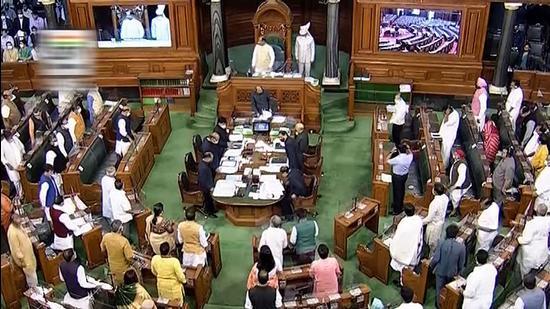 Lok Sabha during current Budget Session last week. (File photo)