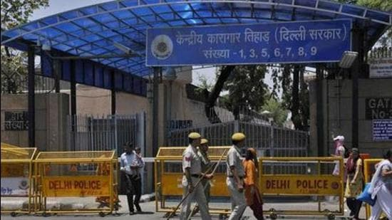 Inside jail number 8 of the high security ward of Tihar, Akhtar shares space with at least four others booked in terror cases. (HT archive)
