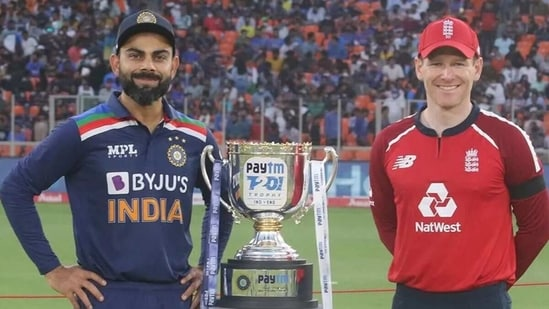 Virat Kohli and Eoin Morgan's teams will play the final three T20Is without spectators. (BCCI)