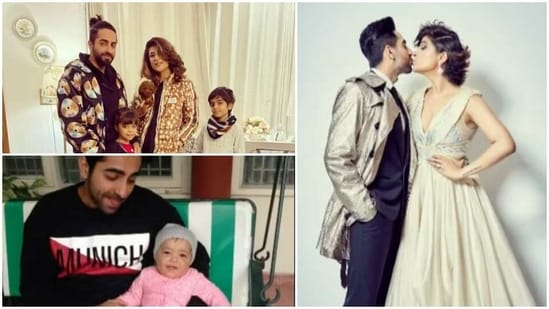 Tahira Kashyap has shared picture with Ayushmann Khurrana and their two kids.
