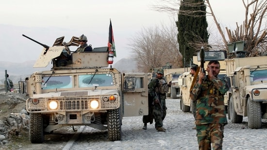 The ministry blamed the Taliban for the attack, but the militant group denied involvement.(REUTERS)