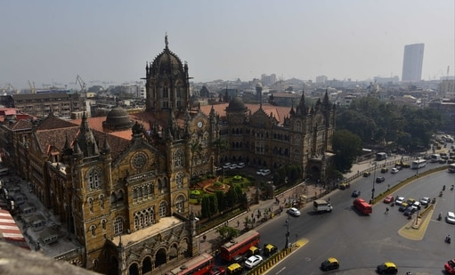 The outbreak in Maharashtra is particularly serious in the regions of Nagpur, Aurangabad, Amravati, Thane and Mumbai. In this file picture, view of CSMT from the terrace of BMC. (Anshuman Poyrekar/Hindustan Times)