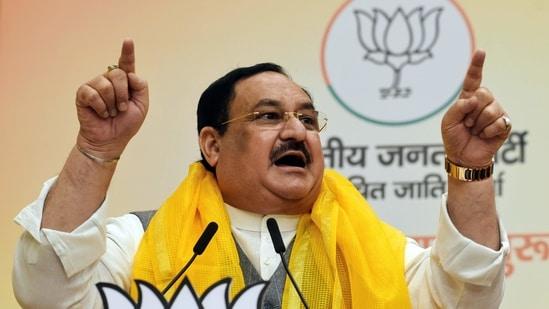 BJP National President JP Nadda.
