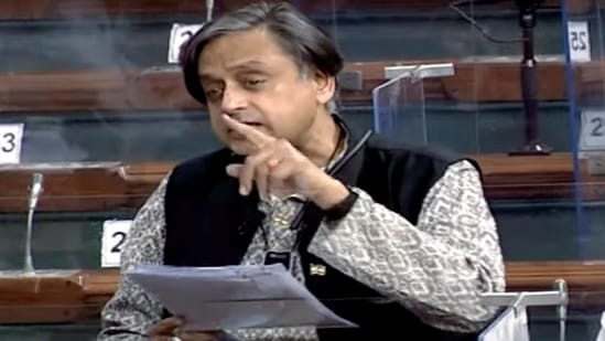 Congress Lok Sabha MP Shashi Tharoor stressed the need both in the new National Education Policy (NEP) and any other government schemes to do better to rise to the challenge of this digital divide.(ANI)