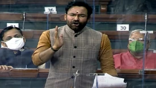 Union minister of state for home affairs G Kishan Reddy said 47 cases of sedition were registered in 2014; 30 in 2015; 35 in 2016; 51 in 2017; 70 in 2018 and 93 in 2019.(ANI)
