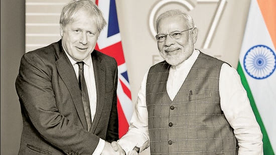 Boris Johnson is regarded positively in India as one committed to expanded India-UK ties in mutual interest. Let us see what he can do to get rid of the debris that still clings to India-UK ties from Britain's colonial past (PIB)