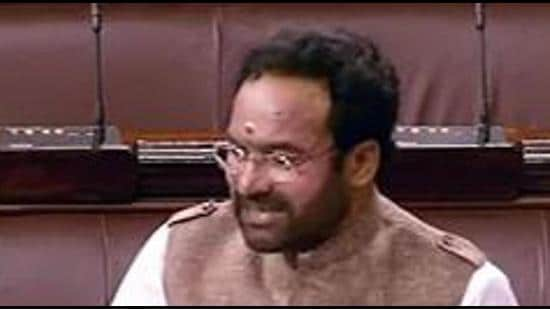 Union minister of state for home G Kishan Reddy. (File photo)