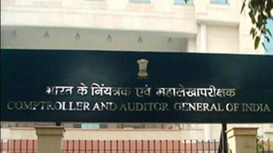 """The suspected fraudulent payment of <span class='webrupee'>₹</span>19 crore was made by manipulating Aadhaar numbers of students,"""" says the CAG report (2018-19 fiscal) tabled on the floor of Haryana Vidhan Sabha on Tuesday. (HT FILE)"""