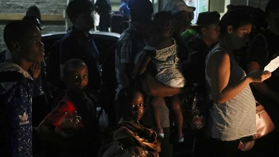 The administration of President Joe Biden has been racing to speed up the processing of hundreds of unaccompanied children who are crossing the southern border every day. (Representative Image)(AP)