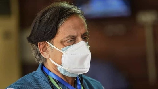 Congress leader Shashi Tharoor also pointed out that the pandemic has exposed a serious digital divide and he cited instances of students taking their own lives due to lack of access to smartphones when classes moved online. He also pitched for having a national computer curriculum.(PTI file)