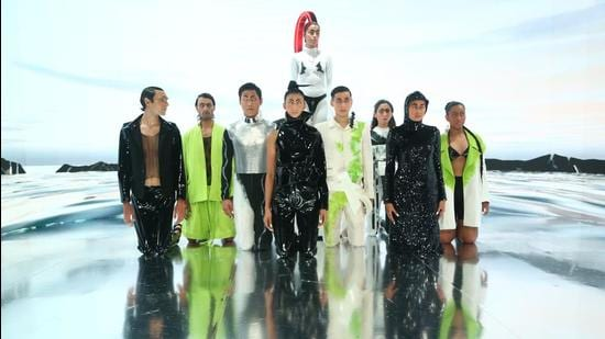 FDCI Emerging Talent BLONI by Akshat Bansal (Photo: Instagram/FDCIOfficial)