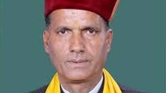 Mandi MP Ram Swaroop Sharma was found dead on Wednesday(HT File)
