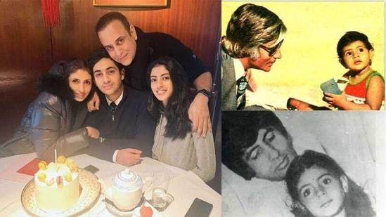 Shweta Bachchan turns 47.