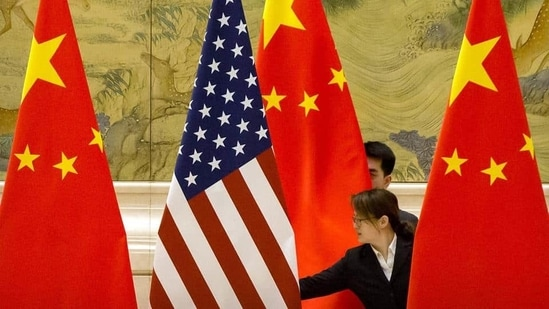 On the eve of the talks, the United States issued a flurry of actions directed at China. (AP)