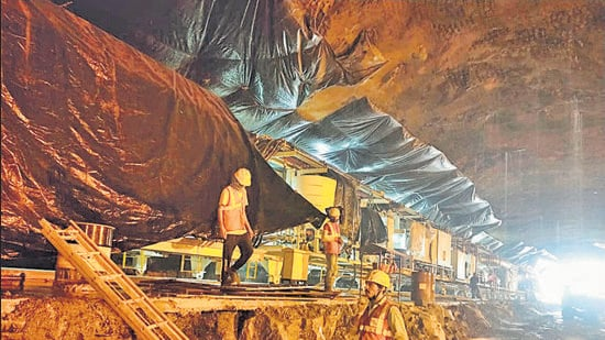 The Swargate to Katraj underground metro line is expected to have one of the highest footfalls once the Pune Metro is operational. (HT PHOTO)