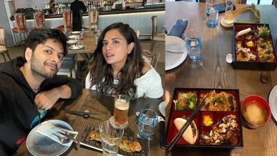 Ali Fazal and Richa Chadha on a lunch date.