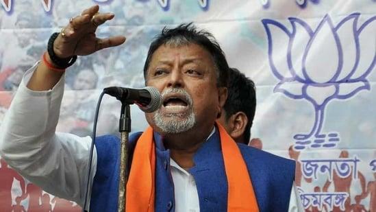 Senior BJP leader Mukul Roy. (PTI File Photo)