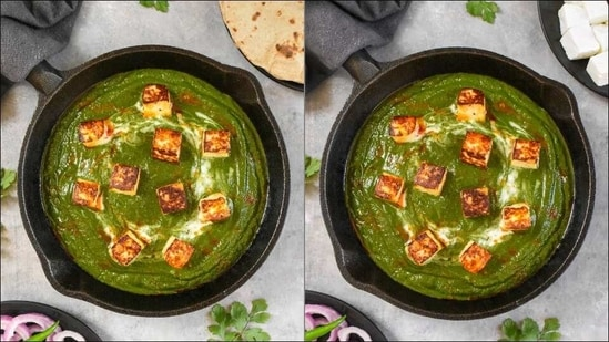 If Popeye came to India, he'd surely binge on this dinner recipe of Palak Paneer(Instagram/culinarychaser)