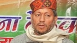 Tirath Singh Rawat is the BJP candidate from the Pauri Lok Sabha constituency.(HT Photo)