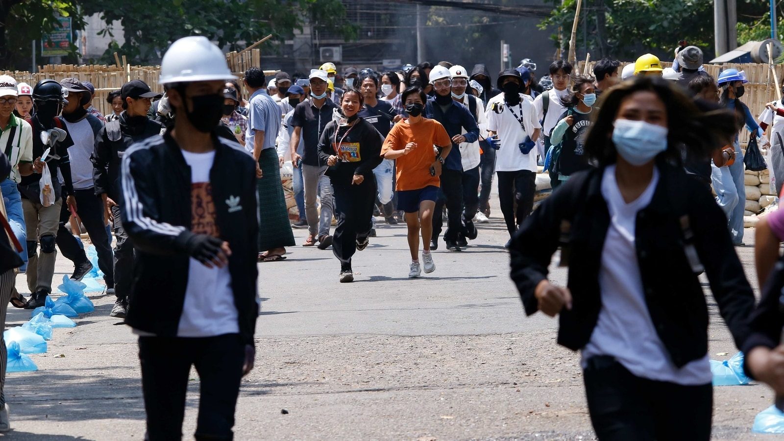 Myanmar security forces kill 9 protesters as Indonesia calls for end to violence