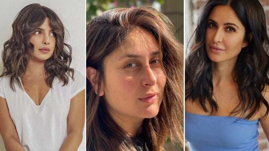Priyanka Chopra Jonas, Kareena Kapoor Khan and Katrina Kaif(Instagram)