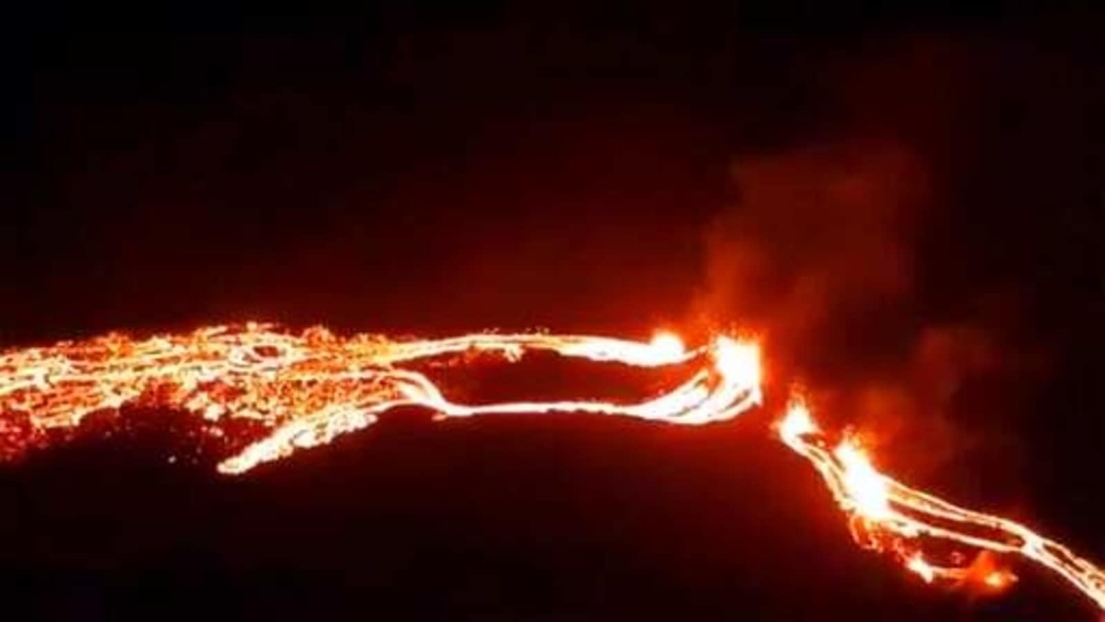 After weeks of seismic activity, volcano erupts near Iceland's capital Reykjavik