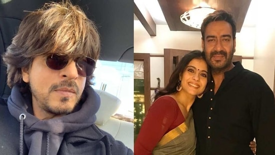 Shah Rukh Khan and Ajay Devgn join hands for a new ad.