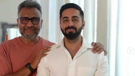 Anubhav and Ayushmann reunite for Anek and wrapped up the shoot on Friday.