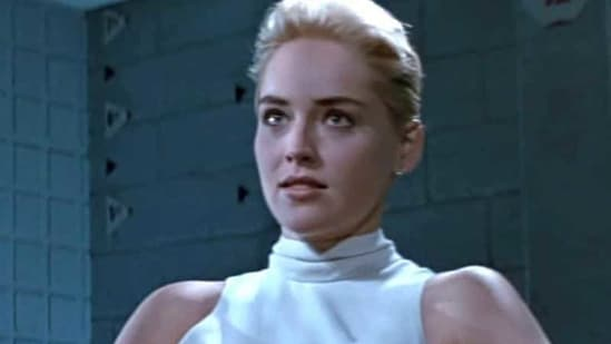 Sharon Stone in a still from Basic Instinct.(YOUTUBE GRAB)