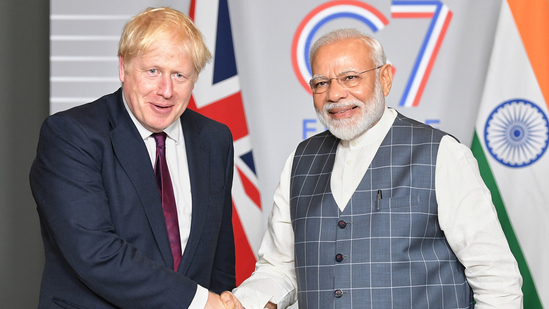 "UK PM Boris Johnson, spoke warmly about PM Modi at an international conference this week and hailed his ""fantastic leadership"". (PIB)"