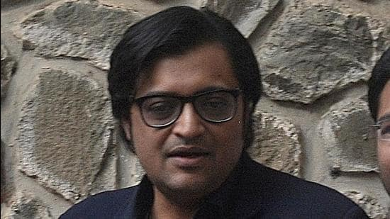 Republic TV's editor-in-chief Arnab Goswami. (HT FILE)