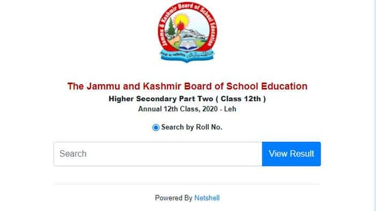 JKBOSE Class 12 Results: Those who have appeared in JKBOSE class 12 annual examination 2020 for Leh division can check their results on the official website at jkbose.ac.in.(jkbose.ac.in)