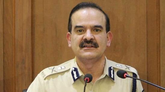 Mumbai police commissioner Param Bir Singh.(HT PHOTO)