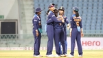 India women win the final T20I by 9 wickets(ICC / Twitter)