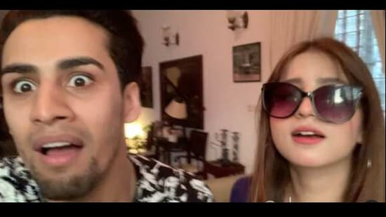 The image shows Dananeer Mobeen and Momin Saqib.(Instagram/@dananeer)