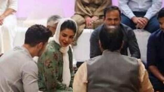 Conducting a 'puja' was very important for Priyanka Chopra.