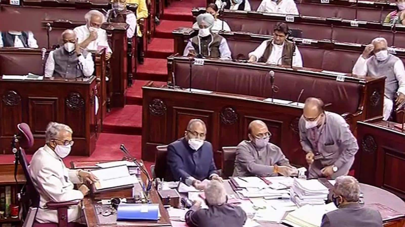 Rajya Sabha clears NCT Bill amid uproar, walkout by opposition parties |  Hindustan Times
