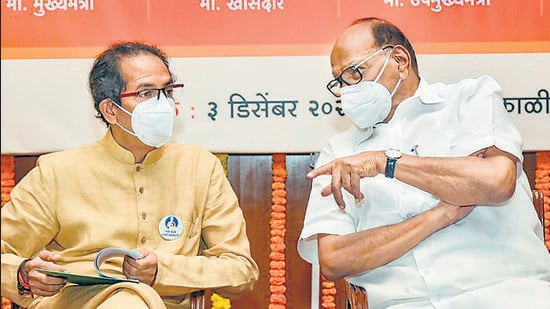 Maharashtra chief minister Uddhav Thackeray and NCP chief Sharad Pawar have been deliberating on the situation in the state. (FILE)