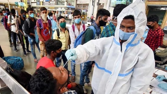 On lockdown anniversary, India records over 47K new Covid-19 infections;  huge jump in active cases | Hindustan Times