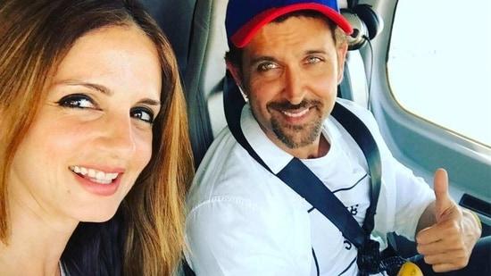 Hrithik Roshan and Sussanne Khan got divorced in 2014.