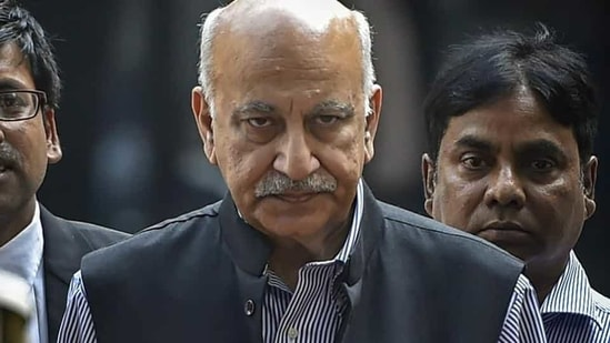 Ramani was the first in a long list of female journalists to accuse MJ Akbar, a journalist-turned-politician, of sexual harassment.(PTI file photo)