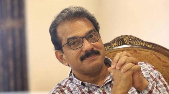 Sabu Jacob, chief co-ordinator of Twenty20 party. (HT photo/Vivek R Nai)