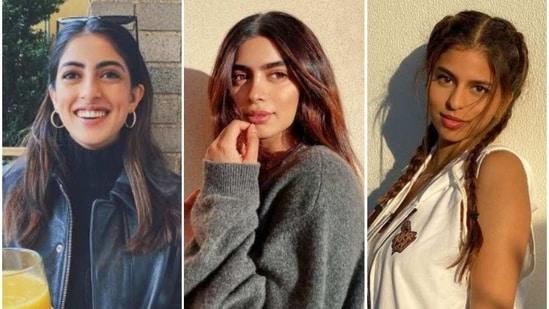 Navya Nanda, Khushi Kapoor and Suhana Khan are all in the US now.
