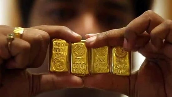 The precious metals have plummeted by around <span class='webrupee'>₹</span>12,000 from their previous year peaks.(Reuters)